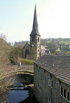 The View from the Bridge, Ripponden, West Yorkshire, England by Tim Green aka atoach