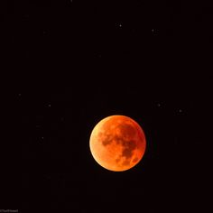 Blood Moon 2015 - View From Switzerland by YuriFineart on 500px