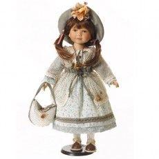 #Muñecasdeporcelana #Muñecasdisy Muñecas de porcelana - Muñeca de colección Evi - 55 cm - PVP 79€