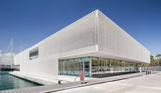 A Breezy Marina in Barcelona by  SCOB Architecture and Landscape