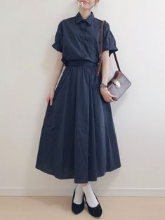There are a variety of how to put on females' casual mini skirt. K Fashion, Ulzzang Fashion, Japan Fashion, Modest Fashion, Skirt Fashion, Korean Fashion, Hijab Fashion, Fashion Dresses, Fashion Design