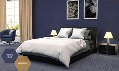 Tintas Suvinil - Índigo Blue - R085 - Sua Casa, Seu Orgulho. - Renove Você Mesmo, Simulador de Decoração, Feng Shui, SelfColor