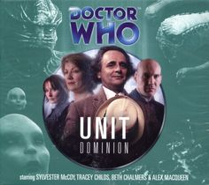 Dr Doctor Who Unit Dominion Series Audio CD Boxed Set Mint 1408467550 | eBay