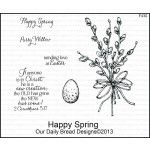 March 2013 Release - Our Daily Bread Designs Happy Spring