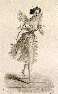 Victorian Ballerina butterfly