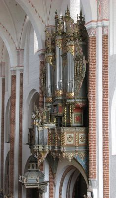 Roskilde Organ right side