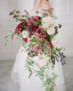 amazing use of reds... | photo greg finck | florals @bloomingayles