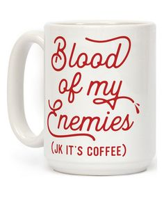 Look at this 'Blood Of My Enemies' Mug on #zulily today!