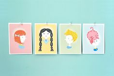 Sewing Cards for Kids | Handmade Charlotte