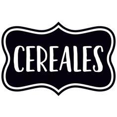 Vinilos Decorativos: Cereales