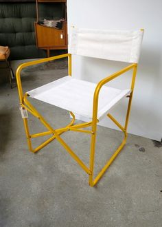 metal canvas director s chair ab pinterest canvases and metals