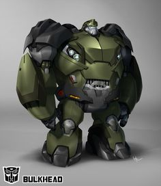 Bulkhead for Transformers: Prime Color: Augusto Barranco Copyright and TM Hasbro Studios. Transformers Prime, Arcee Transformers, Transformers Characters, Optimus Prime, Gi Joe, Zbrush, Hasbro Studios, Just For You, Concept