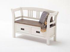 Drewniana ławka rustykalna Provanse 2