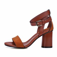 Just In Lina Open Toe Gla... Shop Now! http://www.shopelettra.com/products/lina-open-toe-gladiator-genuine-leather-heel-sandal?utm_campaign=social_autopilot&utm_source=pin&utm_medium=pin #love #ootd