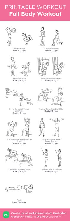 See more here ► Tags: weight loss aids, weight loss for women, workout plans for weight loss - Full Body Workout: my custom printable workout by Full Body Workouts, Fitness Workouts, Sport Fitness, Body Fitness, Easy Workouts, At Home Workouts, Health Fitness, Fitness Shirts, Fitness Tips