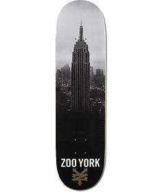 "ZOO YORK PHOTO INCENTIVE Complet Noir Skateboard 8.25/"""