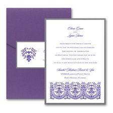 Thermo Hearts of Glory - Layered Pocket Invitation