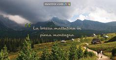 La #brezzamattutina in piena #montagna  meerror.com