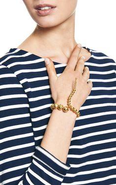 Joos Gold-Plated Coil Bracelet by Paula Mendoza - Moda Operandi