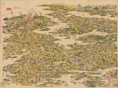 Panoramic view of the noted places of Tōkaidō Highway | Flickr - Photo Sharing!