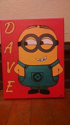 Check out this item in my Etsy shop https://www.etsy.com/listing/462857342/dave-the-minion