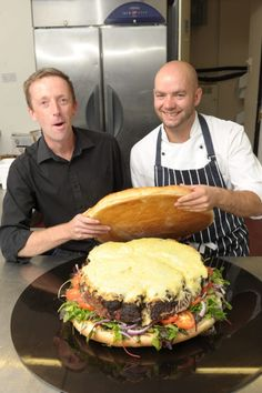 -Britain's biggest burger, the Apocalypse, contains 25,000 calories!