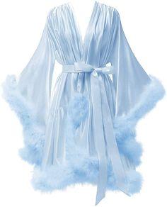 Silk Bathrobe, Robe Silk, Silk Satin, Lingerie Outfits, Lingerie Dress, Satin Sleepwear, Nightwear, Fancy Robes, Sleeping Gown