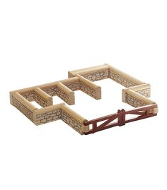 Farm Yard Fence From Pintoy from The Wooden Toybox