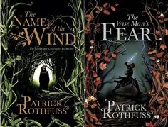 The first two of Patrick Rothfus' Kingkiller Chronicles.....starting a wise man's fear soon, can't wait to read the second book!