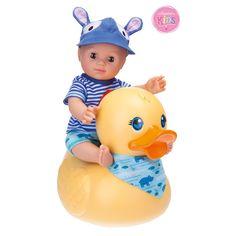 Schildkröt 610300001 Puppe Schildkr&oumlt Kids Badepuppe Boy mit Schwimmente, 30cm, 30 cm: Amazon.de: Spielzeug