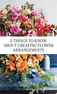 5 Things to Know About Creating Flower Arrangements   Martha Stewart Living - When Ariella Chezar gathers blooms into a vase, they seem to take on a life of their own. We sat in on the celebrated floral designer's workshop and filled our notebooks, so we could share the secrets behind her colorful, captivating flower arrangements.