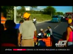 Comunidad Interrumpe Transito En La Autopista Joaquín Balaguer En Protesta Arreglo De Sus Calles #Video
