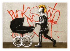 Punk's Not Dead – Art Print By Martin Whatson