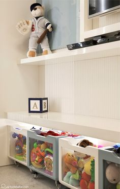155 clever kids bedroom organization and tips ideas- page 14 Teen Decor, Baby Decor, Kids Decor, Boy Room, Kids Room, Kids Bedroom Organization, Clever Kids, Concept Home, Playroom Design