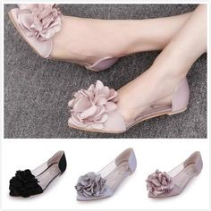 Buy Flower Women Flats Summer Jelly Shoes 2017 Fashion Woman Leisure Footwear Size at Wish - Shopping Made Fun Fashion 2017, Womens Fashion, Summer Flats, Jelly Shoes, Shoes 2017, Wish Shopping, Womens Flats, Footwear, Woman