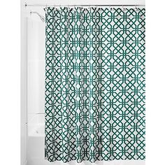 InterDesign Trellis Shower Curtain, 72 by 72-Inch, Emerald InterDesign http://www.amazon.com/dp/B00UVCDAUO/ref=cm_sw_r_pi_dp_ni9nvb0DVWA6T
