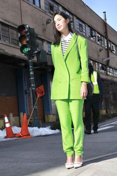 NYFW Street Style - a color you should invest in!