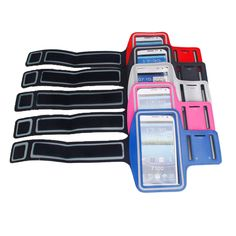 Waterproof Sports Armband Was £9.99 Now £2.99 70% Off Save Money Now Fitness and Running Band Runners will Love this! Available in Pink Blue Red White or Black Mix and Match Colour Coordinated or Clash At 2.99 who cares!