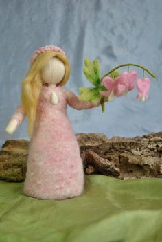 Waldorf inspired needle felted doll by MagicWool on Etsy, $48.00