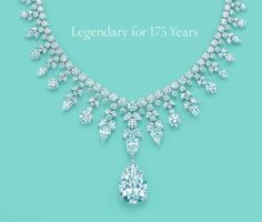 Tiffany's Gorgeous diamond necklace. In a class all by it's self <3.                                                                                                                                                                                 More