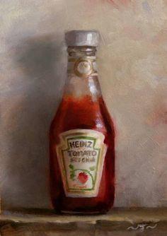 """Saatchi Art Artist Neil  Nelson; , """"Ketchup"""" #art"""