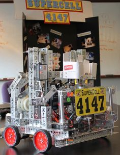 Our sponsored team finished in the semi-finals at the FIRST Robotics competition in St. Louis over the weekend.
