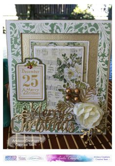 Artdeco Creations Brands: Let Every Day Be Christmas Card Duo by Anita Enright