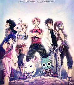 Fairy Tail Nakama 2! by MisterSev7n.deviantart.com on @deviantART