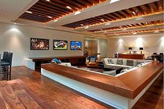 Contemporary Man Cave