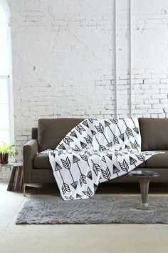 Holli Zollinger For DENY Arrow Throw Blanket - Urban Outfitters