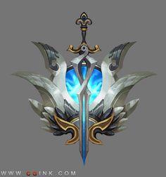 Game Ui Design, Prop Design, Cool Symbols, Game Props, Mobile Art, Weapon Concept Art, Game Icon, Environment Concept Art, Game Logo