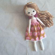 Custom made doll Handmade Fabric doll Rag doll Interior   Etsy Teacher Appreciation Gifts, Fabric Dolls, Custom Fabric, Wool Felt, Art Dolls, Nursery Decor, Bohemian Girls, Quilts, Girls Bedroom