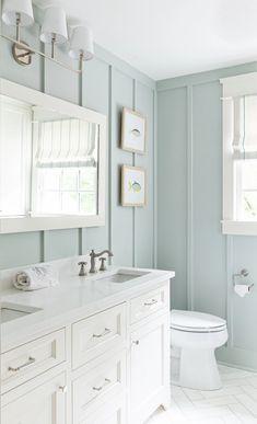 Guest Bathroom Remodel, Guest Bathrooms, Upstairs Bathrooms, Bathroom Renos, Dream Bathrooms, Beautiful Bathrooms, Bathroom Interior, Guest Bathroom Colors, Bathroom Ideas