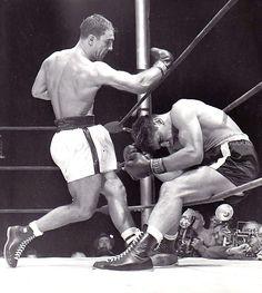 Vintage Rocky Marciano vs Roland LaStarza Championship Boxing Fight Full Ticket